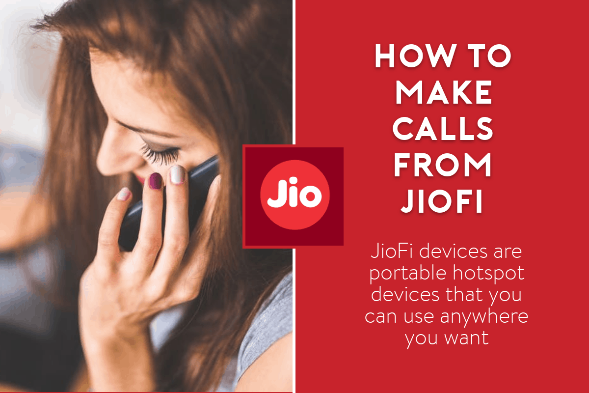 how to make calls from jiofi
